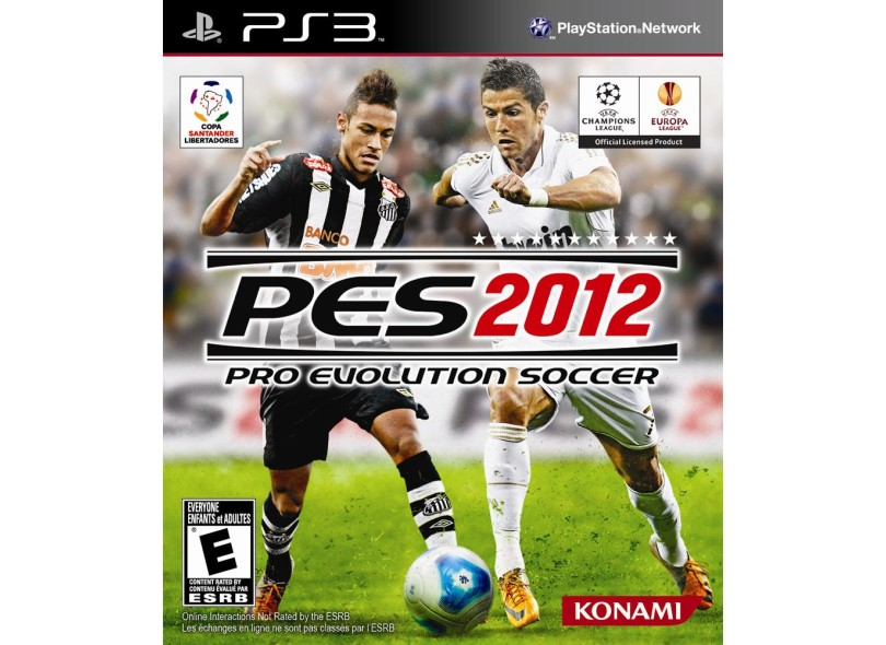 Jogo Pro Evolution Soccer 2012 Konami PS3