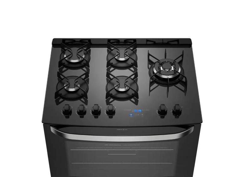 Fogão de Piso Electrolux 5 Bocas Acendimento Automático 76GRS