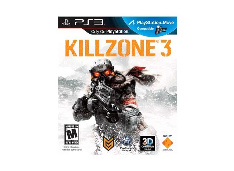 Jogo Killzone 3 Sony PS3
