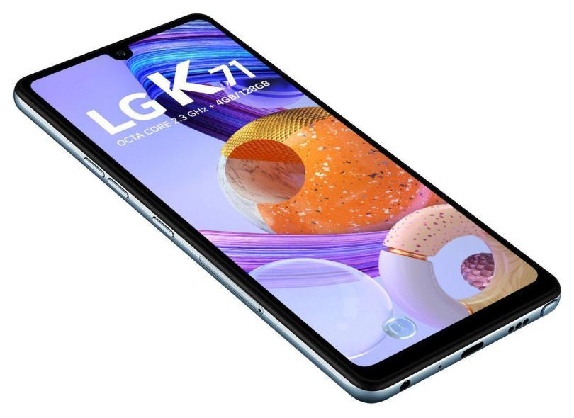 Smartphone LG K71 128GB Câmera Tripla 2 Chips Android 10