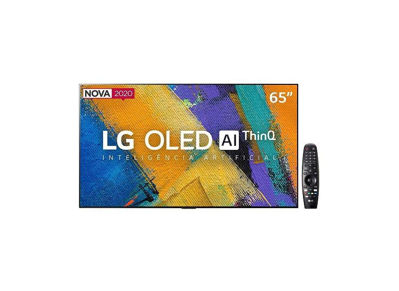 """Smart TV TV OLED 65 """" LG ThinQ AI 4K HDR OLED65GXPSA 4 HDMI"""