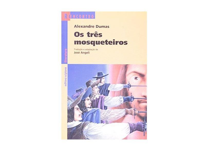 Os Três Mosqueteiros - Série Reencontro 2ª Edição 2003 - Dumas, Alexandre - 9788526242050