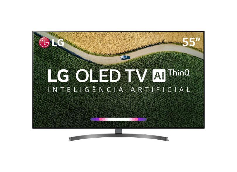 """Smart TV TV OLED 55 """" LG ThinQ AI 4K Netflix 55B9PSB 4 HDMI"""