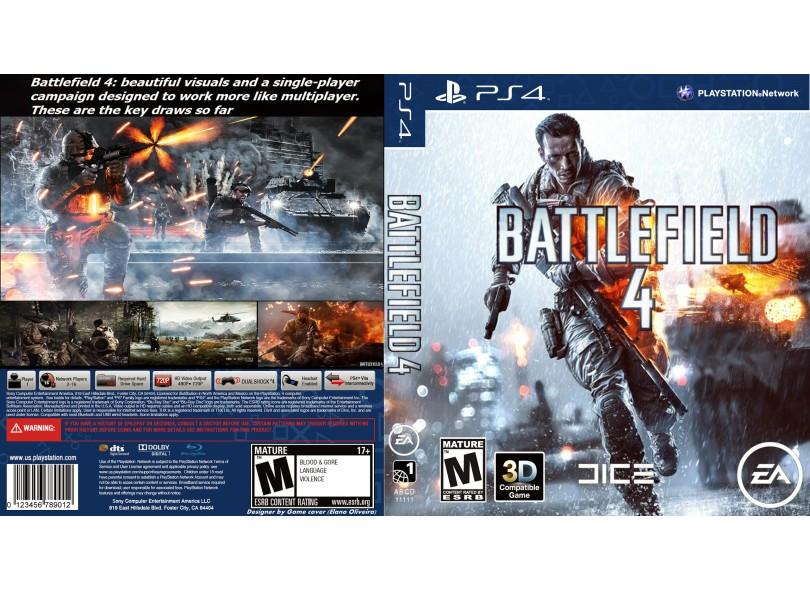 Jogo Battlefield 4 PS4 EA