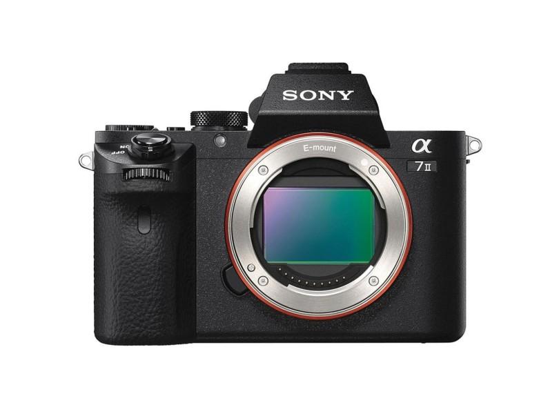 Câmera Digital Semiprofissional Sony Alpha 24.3 MP Full HD A7 II