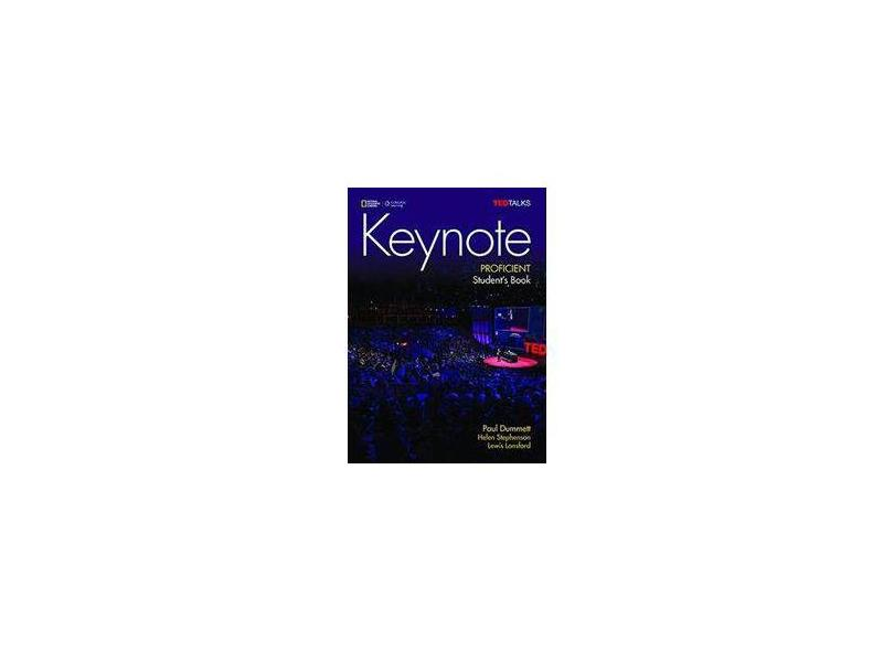 Keynote - Bre - Proficient - Student Book + Dvd-Rom + Myelt Online Workbook, Printed Access Code - Paul Dummett - 9781305880634
