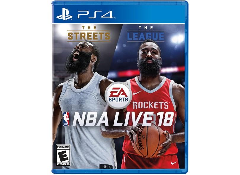 Jogo NBA Live 18 PS4 EA