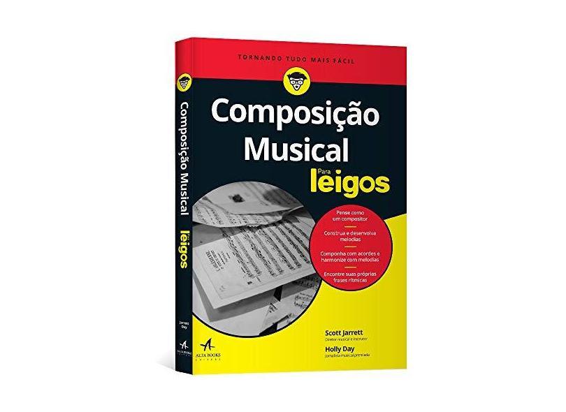 Composição Musical Para Leigos - Scott Jarrett - 9788576089629