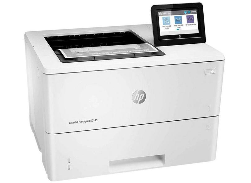 Impressora Multifuncional HP Laserjet Enterprise E50145 Laser Preto e Branco Sem Fio