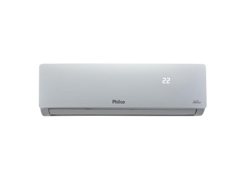 Ar-Condicionado Split Hi Wall Philco 12000 BTUs Inverter Controle Remoto Quente/Frio PAC12000ITQFM9W