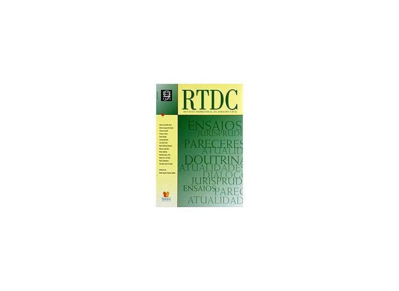 RTDC - Revista Trimestral de Direito Civil - Vol. 9 - Vários - 9771518201005
