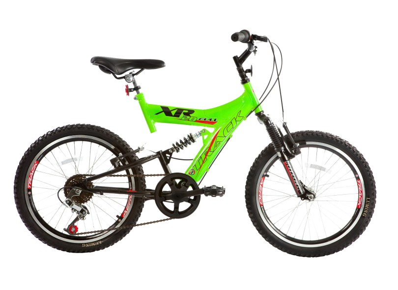 Bicicleta Mountain Bike Track & Bikes 6 Marchas Aro 20 XR 20 Full