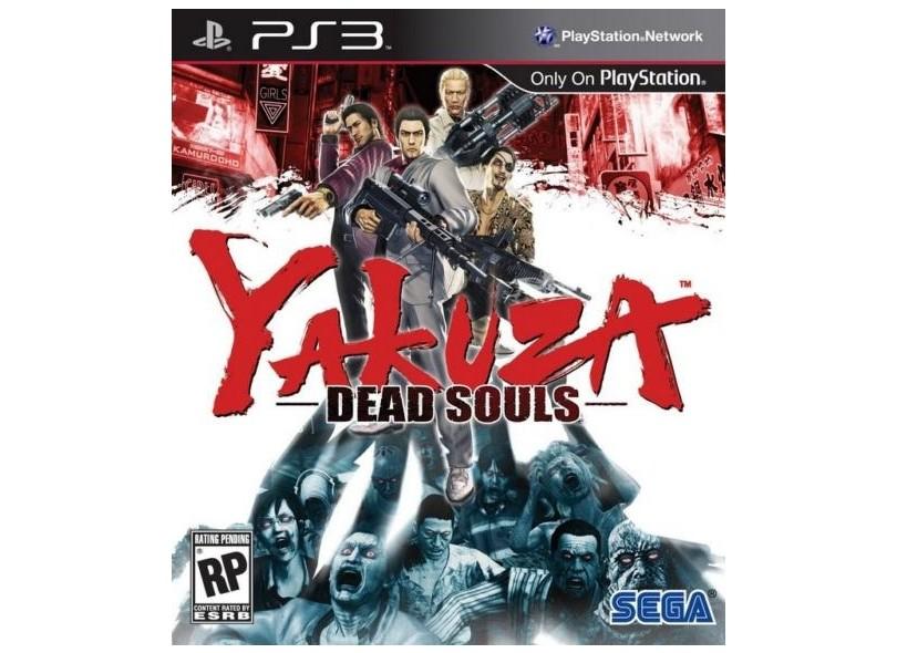 Jogo Yakuza: Dead Souls Sega PlayStation 3