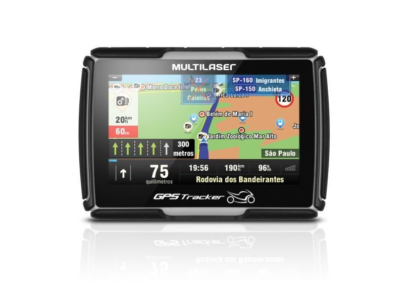 "GPS Automotivo Multilaser GPS Tracker GP022 4.3"""