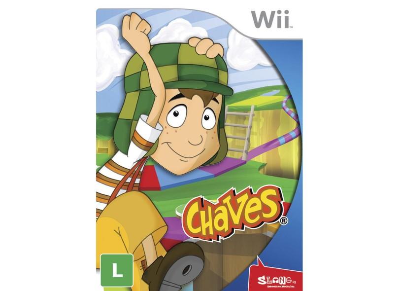 Jogo Chaves Wii Slang