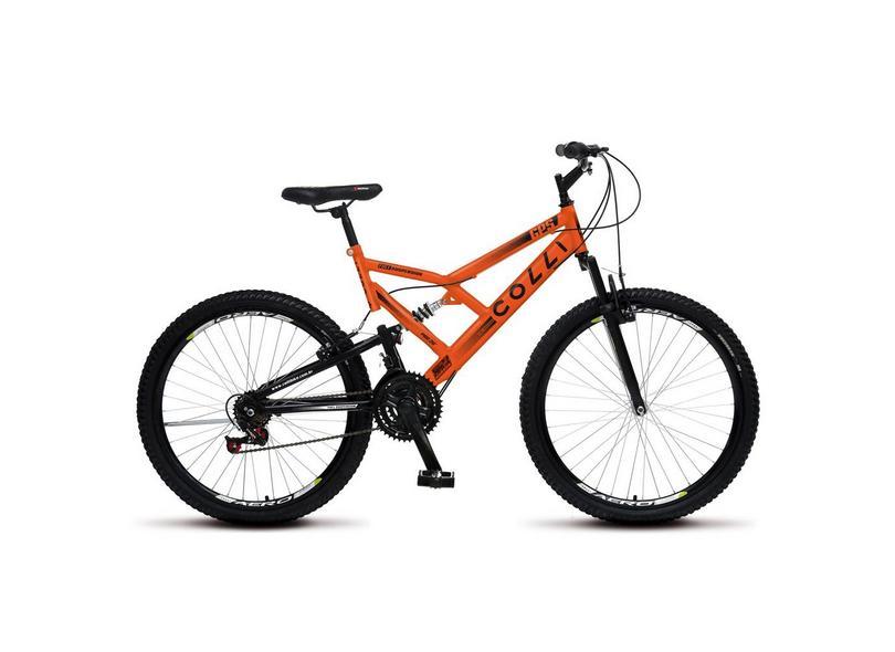 Bicicleta Colli Bikes 21 Marchas Aro 26 Suspensão Full Suspension Freio V-Brake Full-S GPS 148