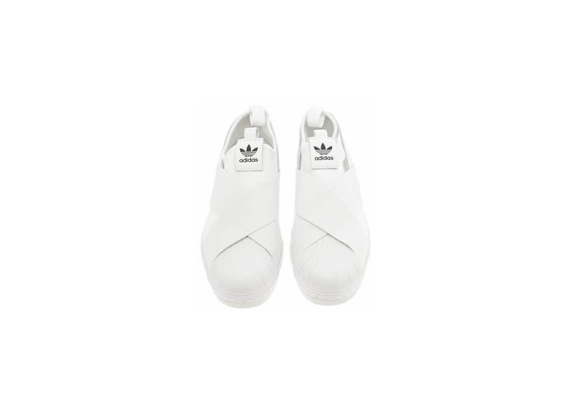 Tênis Adidas Feminino Casual Superstar Slip On