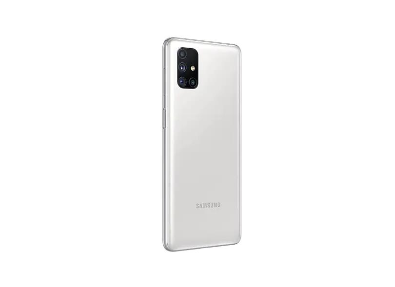 Smartphone Samsung Galaxy M51 128GB Câmera Quádrupla Qualcomm Snapdragon 730 Android 10