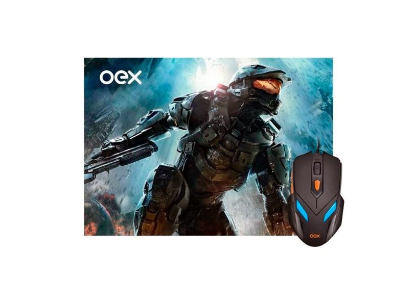 Mouse Óptico Gamer USB War MC100 - OEX