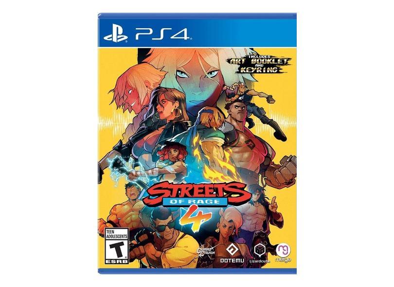 Jogo Streets Of Rage 4 PS4 DotEmu