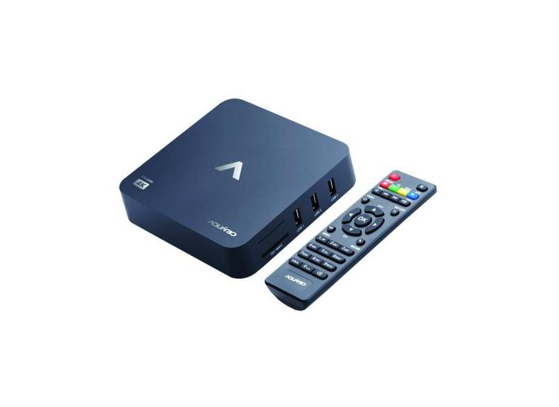 Smart TV Box STV-2000 Aquário 8 GB 4K Android TV Aquário