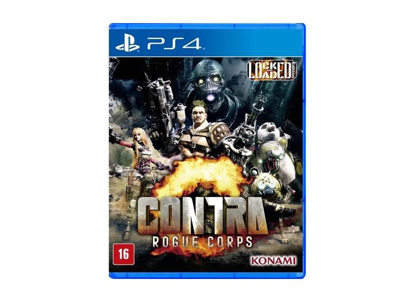 Jogo Contra Rogue Corps PS4 Toy Watch