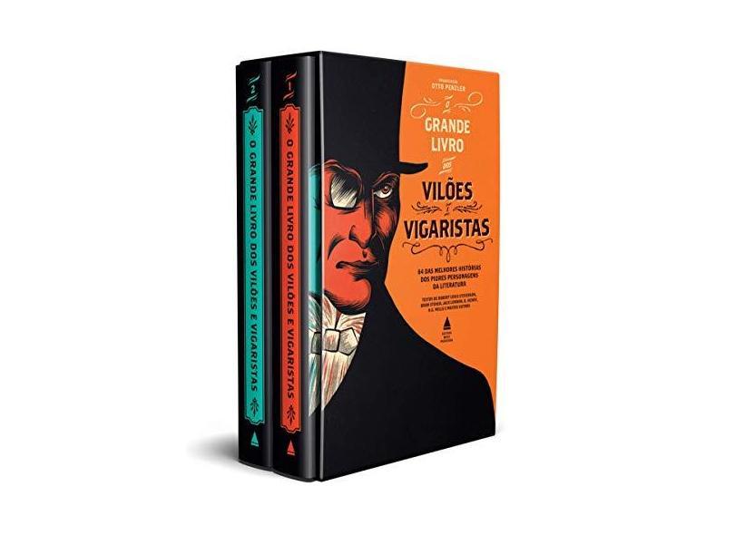 Box - O Grande Livro Dos Vilões e Vigaristas - Penzler, Otto - 9788520942178