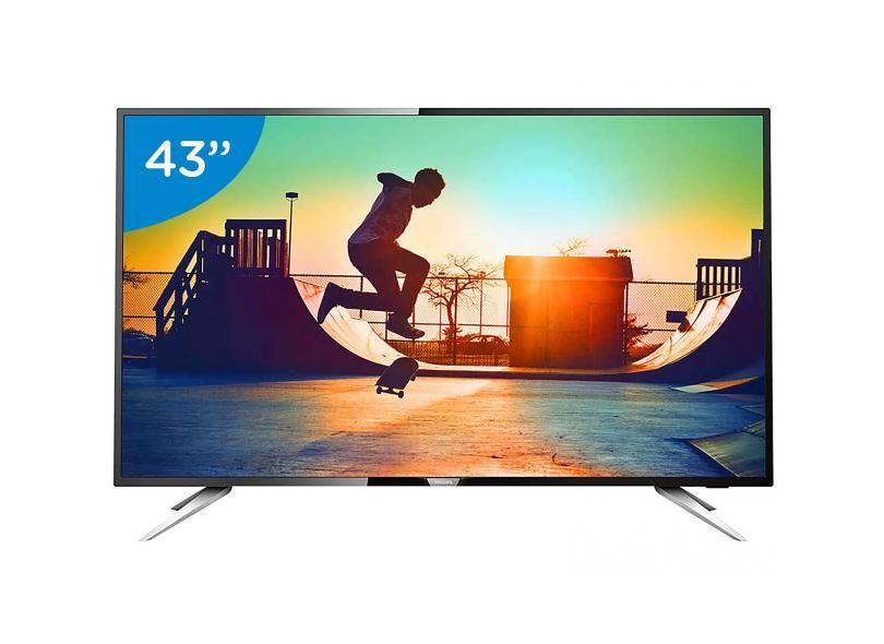 "Smart TV TV LED 43 "" Philips Série 6000 4K 43PUG6102"