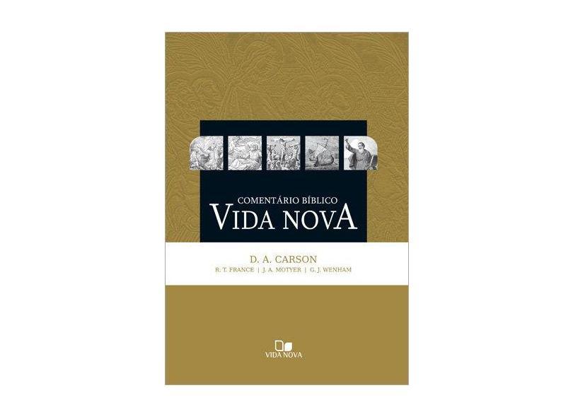 Comentário Bíblico Vida Nova - Capa Dura - 9788527504249