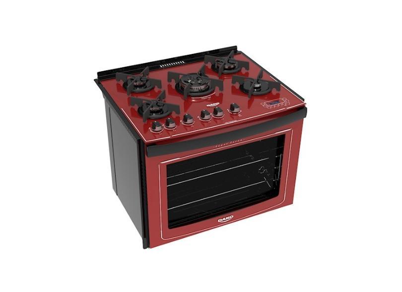 Fogão de Embutir Dako 5 Bocas Acendimento Superautomático Dakolors
