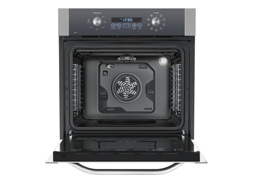 Forno de Embutir Elétrico Electrolux 80 l Inox OE8DX