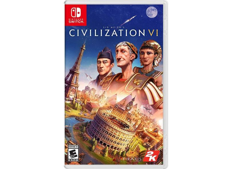 Jogo Sid Meier's Civilization VI 2K Nintendo Switch