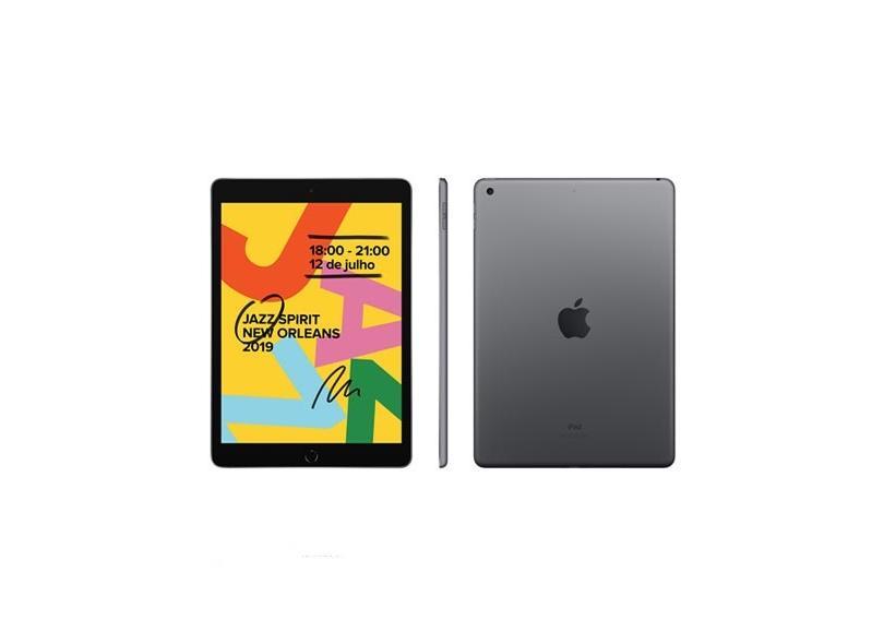 """Tablet Apple iPad 7ª Geração Apple A10 Fusion 32GB Retina 10,2"""" 8 MP"""