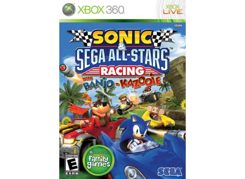 Jogo Sonic & Sega All-Stars Racing Sega Xbox 360