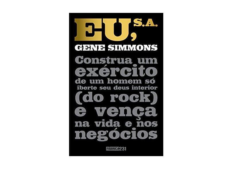 Eu S/A - Simmons, Gene - 9788568432204
