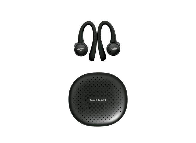Fone de Ouvido Bluetooth Wireless Academia C3 Tech EP-TWS-100