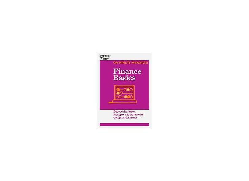 Finance Basics - Capa Comum - 9781625270856