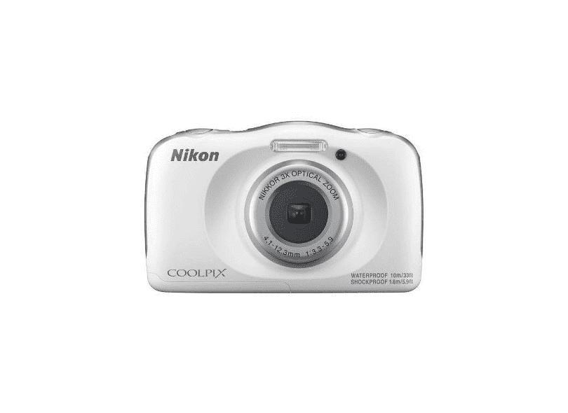 Câmera Digital Nikon Coolpix 13.1 MP Full HD W150