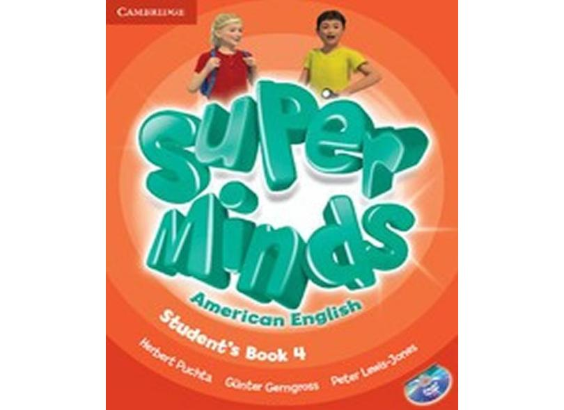 Super Minds American English 4 - Students Book With DVD-ROM - Puchta, Herbert - 9781107604322