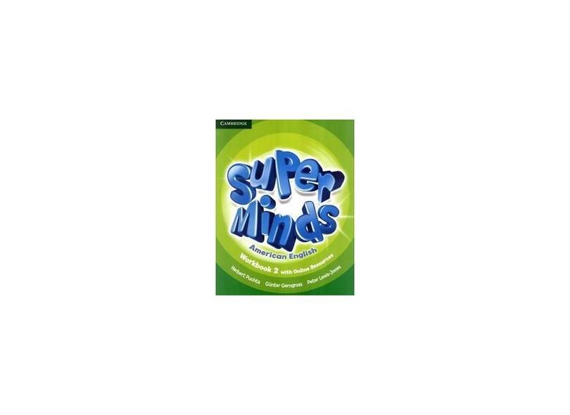 Super Minds American English 2 - Workbook With Online Resources - Puchta, Hebert; - 9781107482661