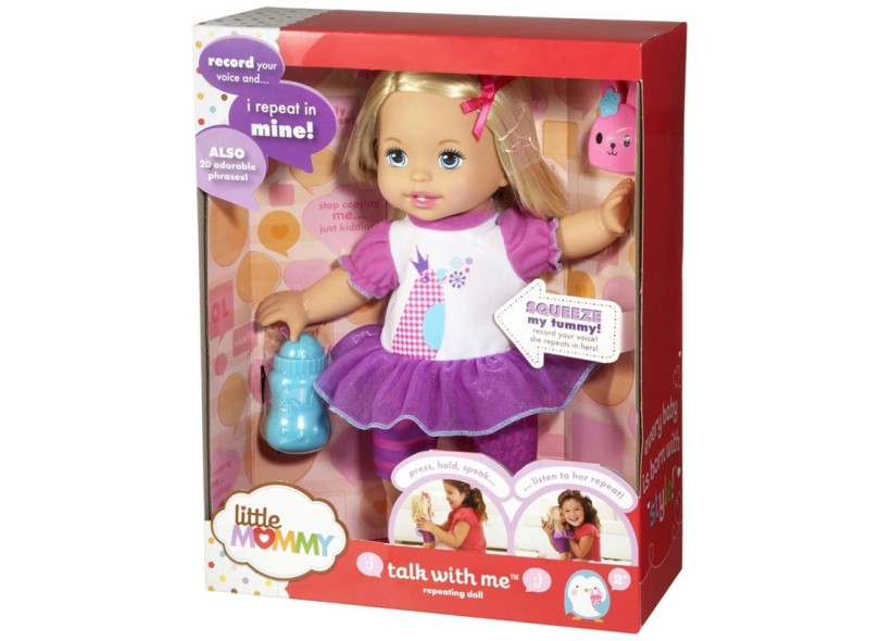 Boneca Little Mommy Fala Comigo Mattel