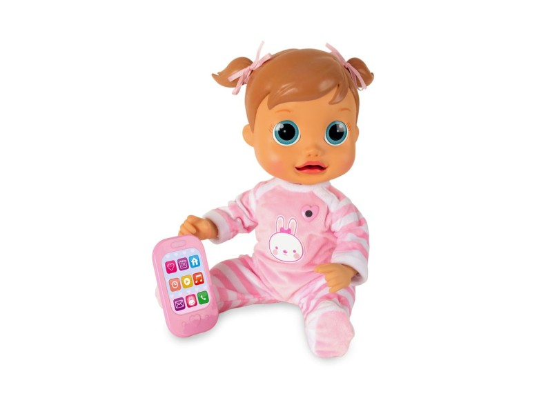 Boneca Baby Wow Analu BR732 Multikids