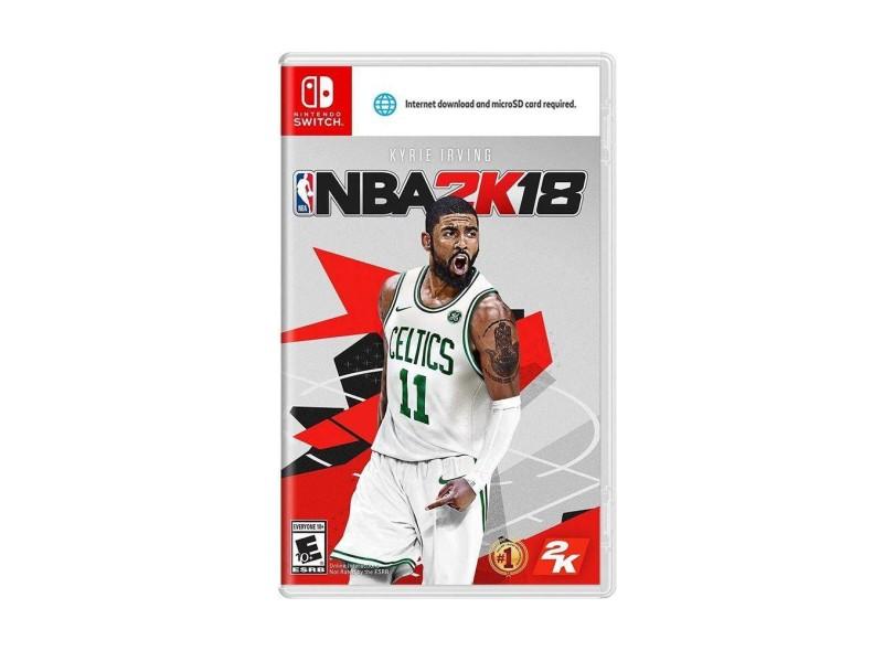Jogo NBA 2K18 2K Nintendo Switch
