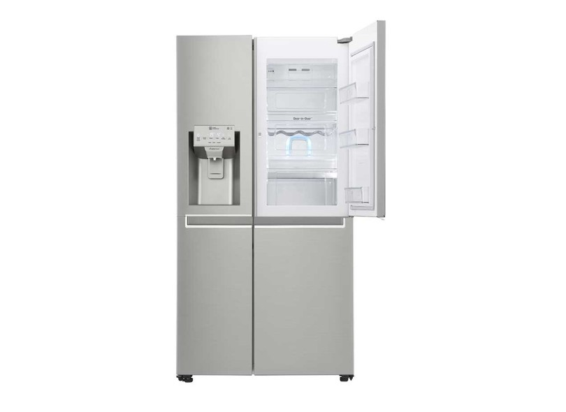 Geladeira LG Frost Free Side by Side 601 Litros New Lancaster GS65SDN