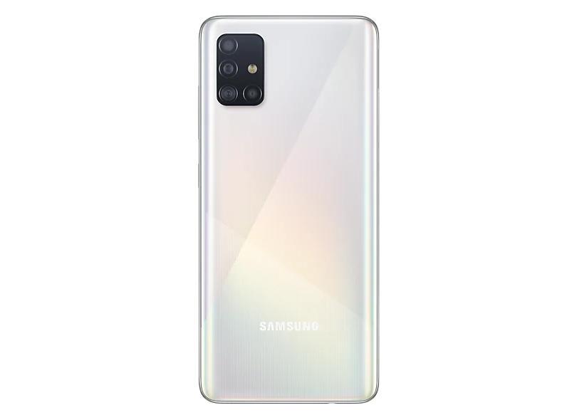 Smartphone Samsung Galaxy A51 128GB Câmera Quádrupla Android 10