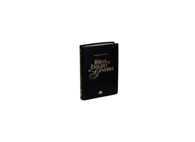 Bíblia de Estudo de Genebra - Sbb - Sociedade Biblica Do Brasil - 7898521808563