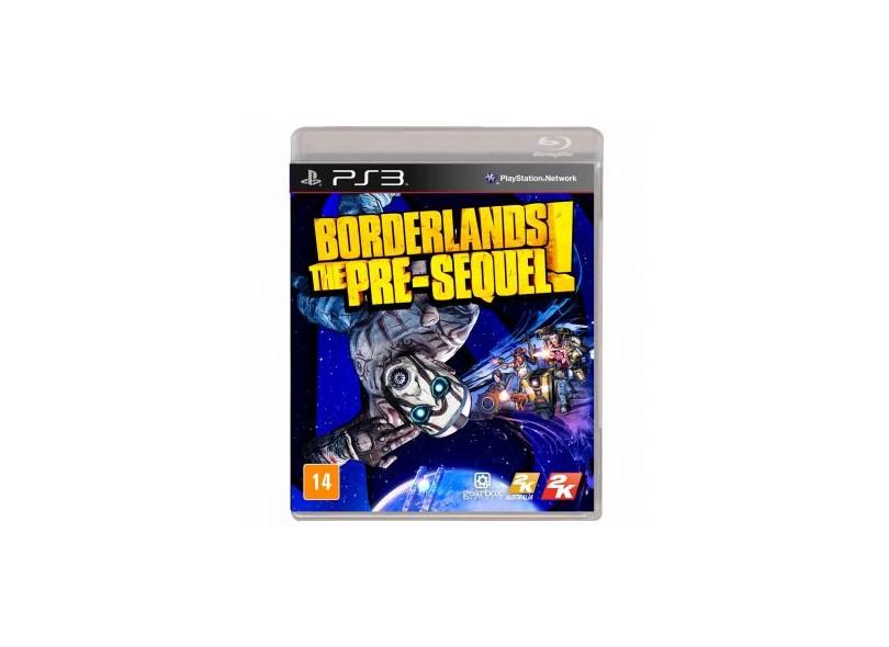 Jogo Borderlands: The Pre-Sequel! PlayStation 3 2K
