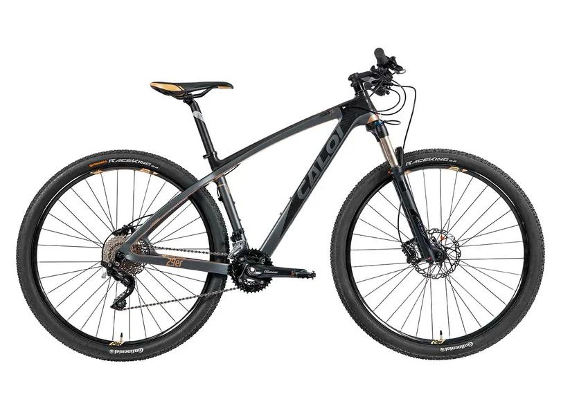 Bicicleta Mountain Bike Caloi 20 Marchas Aro 29 Suspensão Dianteira Disco Hidráulico Carbon Ibex