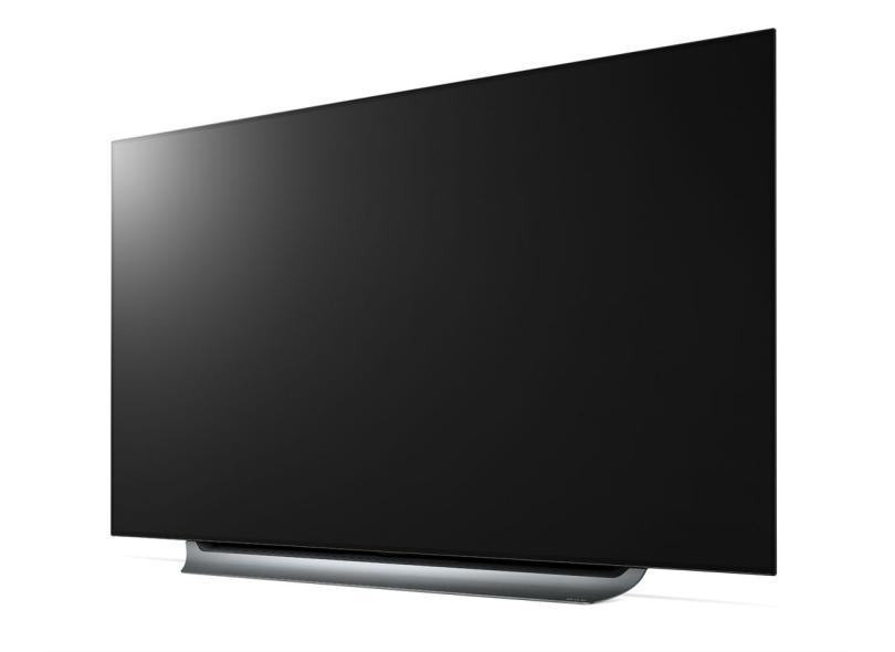 "Smart TV TV OLED 65 "" LG ThinQ AI 4K Netflix OLED65C8PSA 4 HDMI"