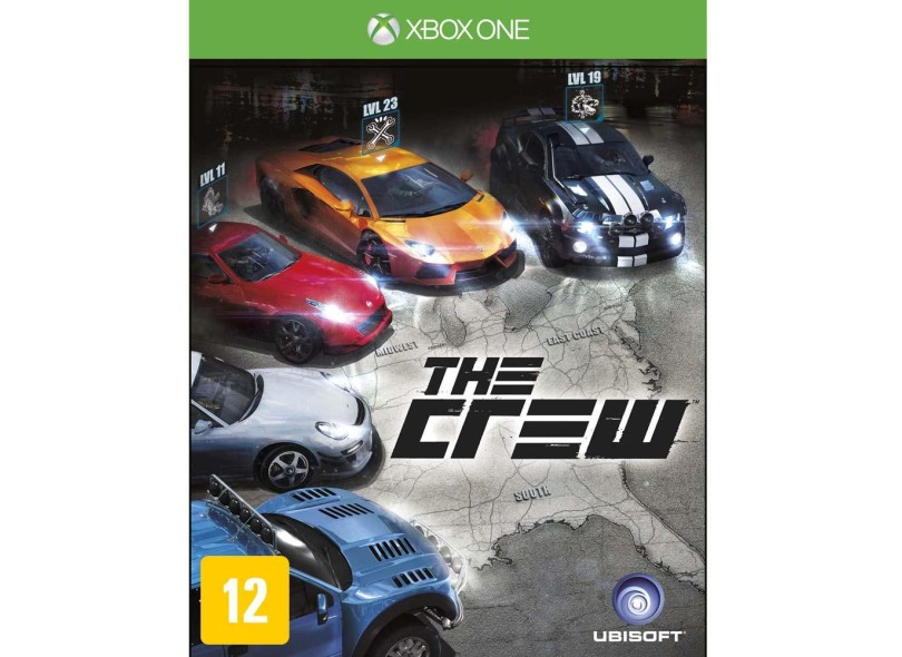 Jogo The Crew Xbox One Ubisoft